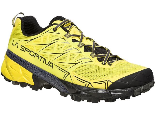 La Sportiva Akyra - Zapatillas running Hombre - amarillo/negro
